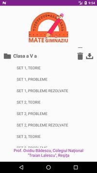 Mate Gimnaziu screenshot 1