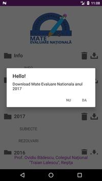 Mate Evaluare Nationala apk screenshot