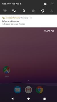 Avertizări România apk screenshot