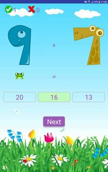 Addition and Subtraction apk screenshot