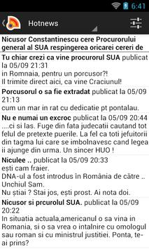 Stiri din Romania apk screenshot
