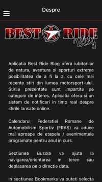BEST RIDE Blog screenshot 5