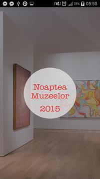 Noaptea Muzeelor 2015 poster