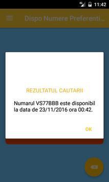 Dispo Numere Preferentiale apk screenshot