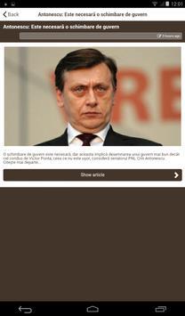 NewsHUB - Stiri Nationale apk screenshot