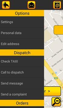 TAXI 965 Client screenshot 1