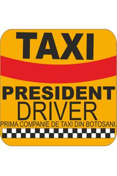 TAXI President Driver poster