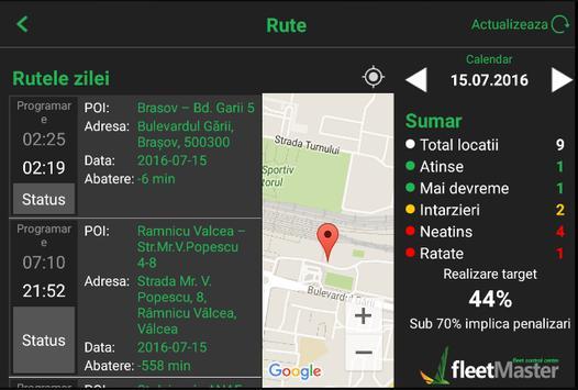 fleetMaster apk screenshot
