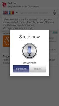 hallo.ro Dictionary apk screenshot