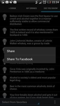 AutoSafe Drinking (BAC calc) apk screenshot