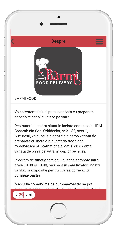 Barmi Food Delivery poster