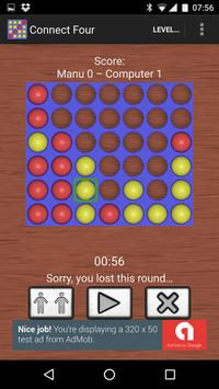Connect 4, Four in a Line screenshot 1