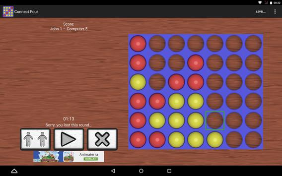 Connect 4, Four in a Line screenshot 2