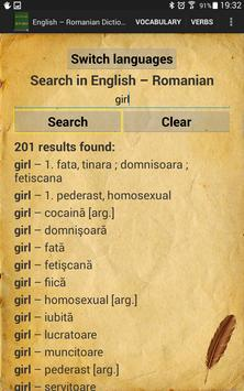 English Romanian English Dictionary screenshot 11