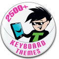 Keyboard Themes Shop