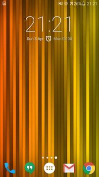 Rainbow Strips Live Wallpaper apk screenshot