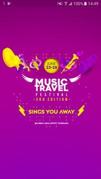Music Travel Festival poster