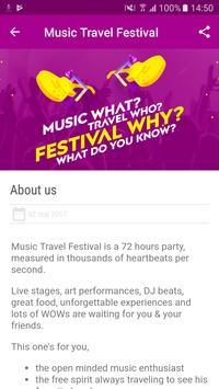 Music Travel Festival screenshot 2