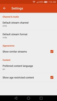 Streamer apk screenshot