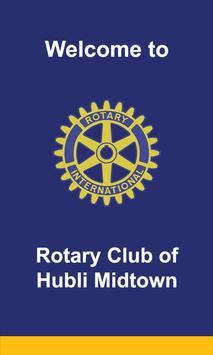 Rotary Club of Hubli Midtown poster
