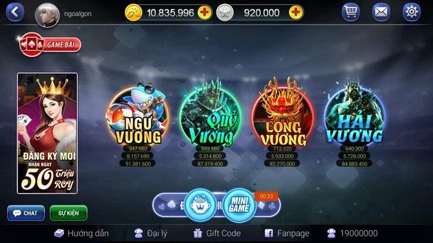 ROYVIP.COM - Game Bai Doi Thuong ảnh chụp màn hình 2