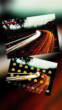 Road Light Keyboard poster