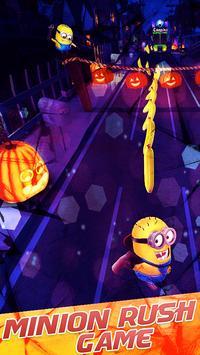 Minion Superhero rush:Superhero subway rush screenshot 1