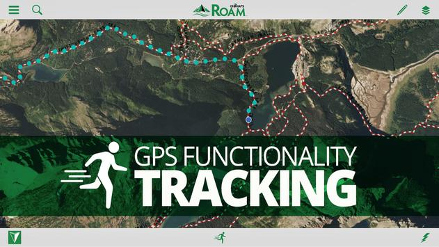ROAM GPS Land Trails Topo Maps for Android - APK Download
