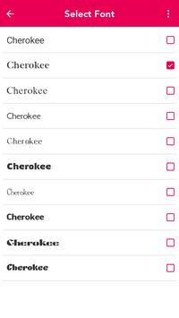 Cherokee Keyboard screenshot 4