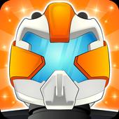 robot adventure icon