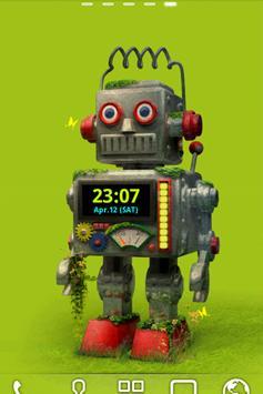 ROBOT Live Wallpaper Trial poster