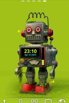 ROBOT Live Wallpaper Trial apk screenshot