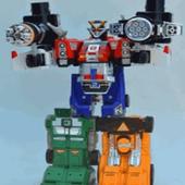 enigma revolution robot ranger hero icon