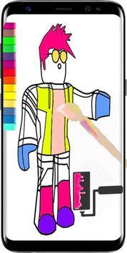 Roblox Coloring Book New apk screenshot