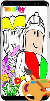 Roblox Coloring Book New poster
