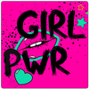 Freche Sprüche Bilder Girl Power simgesi