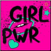 Freche Sprüche Bilder Girl Power icon