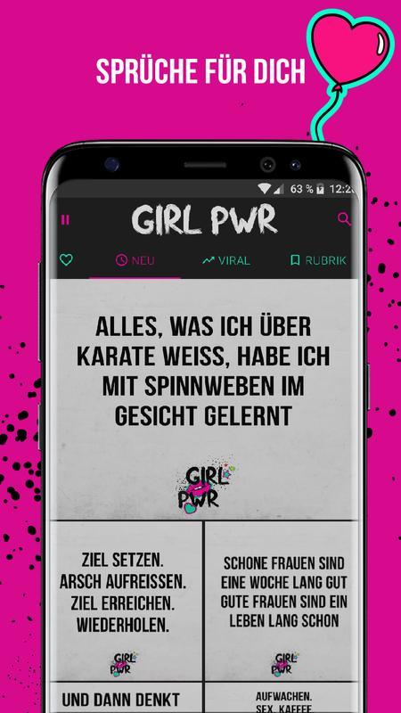 Freche Sprüche Bilder Girl Power for Android   APK Download