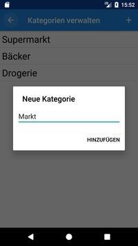 Einkaufsassistent apk screenshot