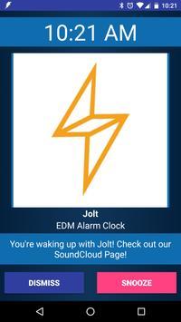 Jolt EDM Alarm Clock poster