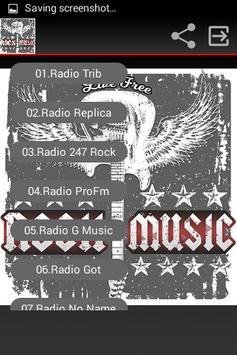 Radio Rock Online Free screenshot 1