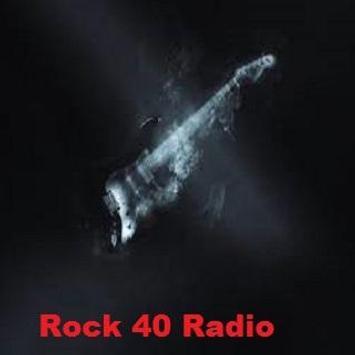 Rock 40 Radio poster