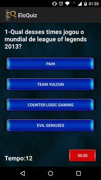 EloQuiz - League of Legends PT screenshot 3
