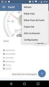 Rede social Salmos 133 apk screenshot