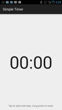 Simple Timer screenshot 1