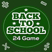 24 Game - Back to School icon