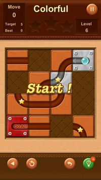 Unblock Ball ✪ Slide Puzzle screenshot 10