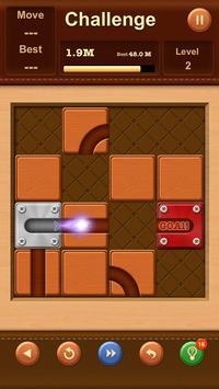 Unblock Ball ✪ Slide Puzzle screenshot 23