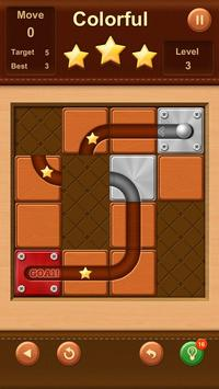 Unblock Ball ✪ Slide Puzzle screenshot 6