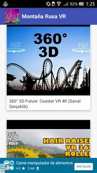 VR 360 Roller Coaster 2020 screenshot 3